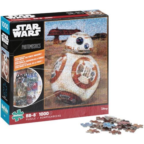 Star Wars: Episode VII BB-8 - 1000pc Photomosaic Jigsaw Puzzle by Buffalo Games
